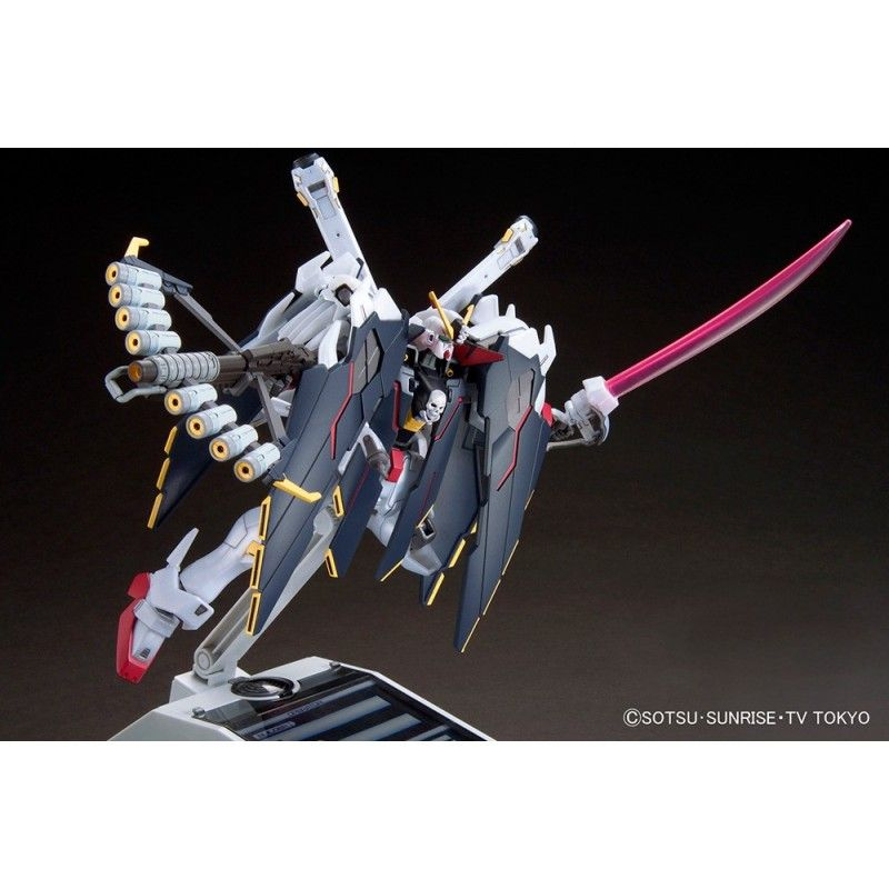 BANDAI HIGH GRADE HGBF GUNDAM CROSSBONE X1 FULLCLOTH 1/144 MODEL KIT ACTION FIGURE