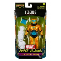 HASBRO MARVEL LEGENDS SUPER VILLAINS SERIES A.I.M. SCIENTIST SUPREME ACTION FIGURE