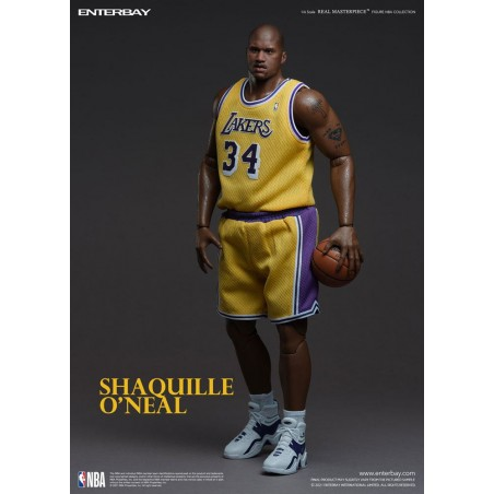 NBA COLLECTION REAL MASTERPIECE SHAQUILLE O'NEAL 37CM ACTION FIGURE