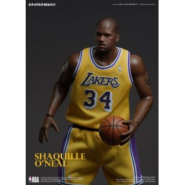 NBA COLLECTION REAL MASTERPIECE SHAQUILLE O'NEAL 37CM ACTION FIGURE ENTERBAY