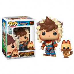 FUNKO FUNKO POP! MONSTER HUNTER LUTE AND NAVIROU BOBBLE HEAD KNOCKER FIGURE