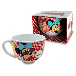 DISNEY MINNIE MOUSE TOPOLINA JUMBO CERAMIC MUG TAZZA IN CERAMICA PYRAMID INTERNATIONAL