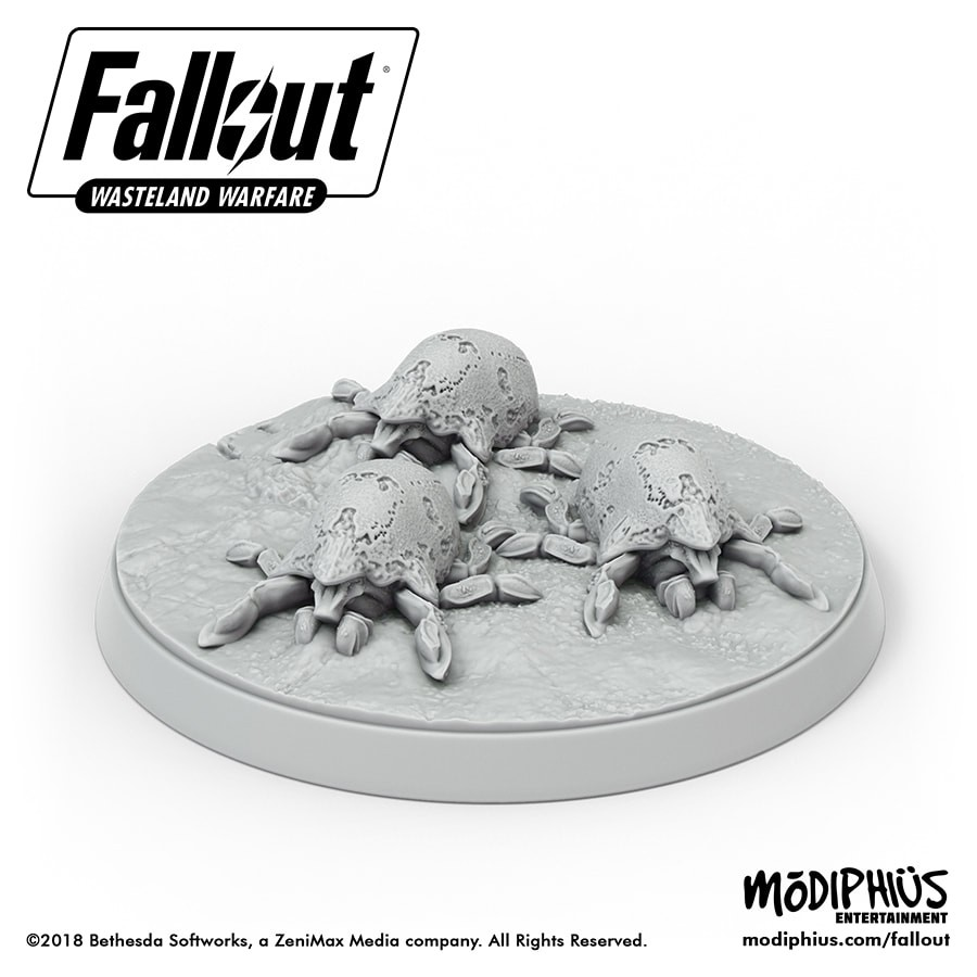 Modiphius Fallout Wasteland Warfare Fog Crawler Toys & Games ...