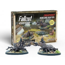MODIPHIUS ENTERTAINMENT FALLOUT WASTELAND WARFARE - MIRELURK HUNTERS MINIATURES