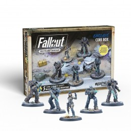 MODIPHIUS ENTERTAINMENT FALLOUT WASTELAND WARFARE - ENCLAVE CORE BOX MINIATURES