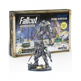 MODIPHIUS ENTERTAINMENT FALLOUT WASTELAND WARFARE - ENCLAVE FRANK HORRIGAN MINIATURE