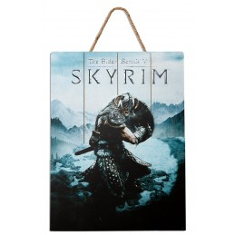 DOCTOR COLLECTOR SKYRIM AERIAL WOOD PRINT