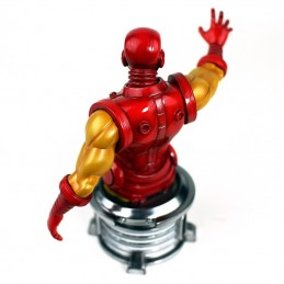 SEMIC MARVEL THE INVINCIBLE IRON MAN BUST STATUE 20CM RESIN FIGURE