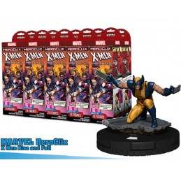 MARVEL HEROCLIX X-MEN RISE AND FALL 10X BOOSTER BRICK WIZKIDS