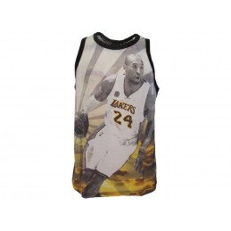 A STARS LEAGUE KOBE BRYANT BLACK TANK TOP