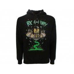 FELPA HOODIE RICK AND MORTY NAVICELLA
