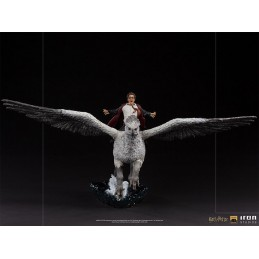 IRON STUDIOS HARRY POTTER AND BUCKBEAK DELUXE ART SCALE 1/10 STATUE FIGURE
