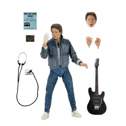 BACK TO THE FUTURE RITORNO AL FUTURO ULTIMATE MARTY BATTLE OF BANDS ACTION FIGURE NECA