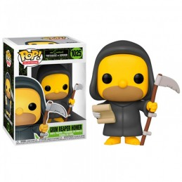 FUNKO POP! THE SIMPSONS GRIM REAPER HOMER BOBBLE HEAD FIGURE FUNKO