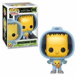 FUNKO POP! THE SIMPSONS SPACEMAN BART BOBBLE HEAD FIGURE FUNKO