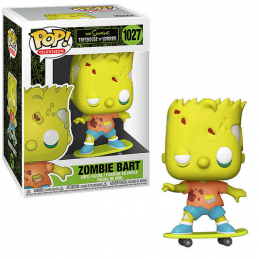 FUNKO POP! THE SIMPSONS ZOMBIE BART BOBBLE HEAD FIGURE FUNKO