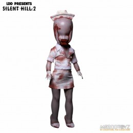 LIVING DEAD DOLLS LDD SILENT HILL2 BUBBLE HEAD NURSE ACTION FIGURE MEZCO TOYS