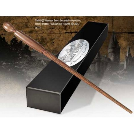HARRY POTTER WAND DEATH EATER BROWN REPLICA BACCHETTA