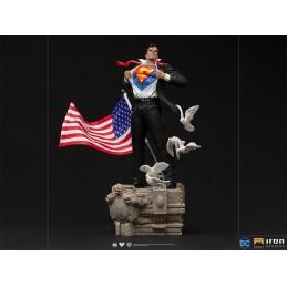 SUPERMAN CLARK KENT ART SCALE DELUXE 1/10 STATUA FIGURE IRON STUDIOS