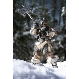 PURE ARTS THE ELDER SCROLLS V SKYRIM DRAGONBORN DELUXE ED. 32CM ACTION FIGURE