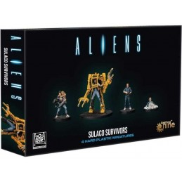ALIENS ANOTHER GLORIOUS DAY IN THE CORPS - SULACO SURVIVORS MINIATURE GF9-BATTLEFRONT