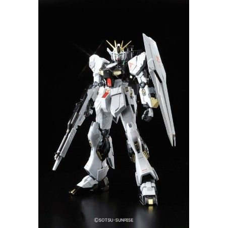 MASTER GRADE MG GUNDAM NU VER KA TITANIUM FINISH 1/100 MODEL KIT