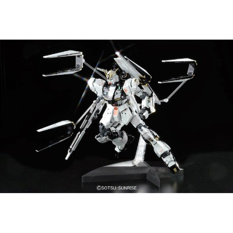 BANDAI MASTER GRADE MG GUNDAM NU VER KA TITANIUM FINISH 1/100 MODEL KIT