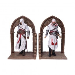 ASSASSIN'S CREED EZIO AUDITORE ALTAIR BOOKENDS FIGURE FERMALIBRI NEMESIS NOW