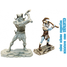 DUNGEONS AND DRAGONS ICEWIND DALE FROST GIANT RAVAGER MINI FIGURE GF9-BATTLEFRONT