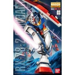 BANDAI MASTER GRADE MG GUNDAM RX-78-2 VER 2.0 1/100 MODEL KIT