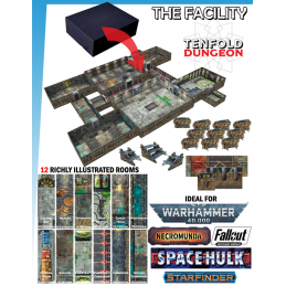 TENFOLD DUNGEON THE FACILITY PER MINIATURE GAMES DM VAULT