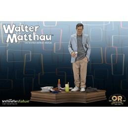 WALTER MATTHAU OLD AND RARE 1/6 RESIN STATUA FIGURE INFINITE STATUE