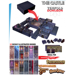 TENFOLD DUNGEON THE CASTLE PER MINIATURE GAMES DM VAULT