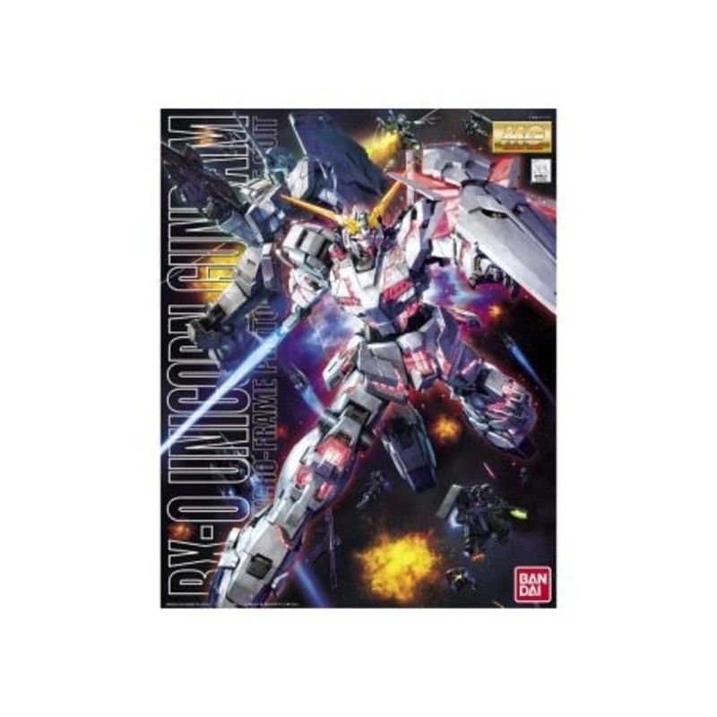 BANDAI MASTER GRADE MG GUNDAM UNICORN RX-0 1/100 MODEL KIT
