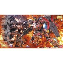 BANDAI MASTER GRADE MG GUNDAM UNICORN RX-0 + MS CAGE 1/100 MODEL KIT