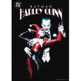 SD TOYS DC COMICS HARLEY QUINN AND JOKER 1000 PIECES PEZZI JIGSAW PUZZLE 48x60cm