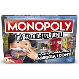 HASBRO MONOPOLY LA RIVINCITA DEI PERDENTI - GIOCO DA TAVOLO ITALIANO