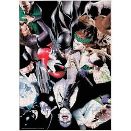 DC COMICS BATMAN AND VILLAINS 1000 PIECES PEZZI JIGSAW PUZZLE 48x60cm SD TOYS
