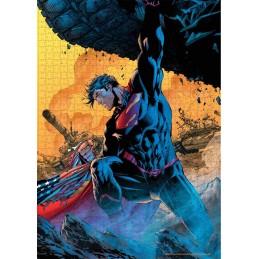 DC COMICS SUPERMAN TANK 1000 PIECES PEZZI JIGSAW PUZZLE 48x60cm SD TOYS