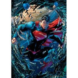 DC COMICS SUPERMAN UNCHAINED 1000 PIECES PEZZI JIGSAW PUZZLE 48x60cm SD TOYS