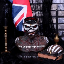 NEMESIS NOW IRON MAIDEN THE BOOK OF SOULS EDDIE BUST BOX FIGURE