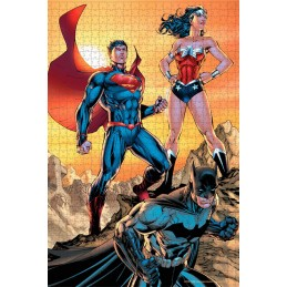 DC COMICS JUSTICE LEAGUE TRINITY 1000 PIECES PEZZI JIGSAW PUZZLE 48x60cm SD TOYS