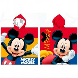 DISNEY TOPOLINO MICKEY MOUSE PONCHO BEACH BATH TOWEL TELO DA MARE