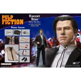 PULP FICTION VINCENT VEGA PONYTAIL 1/6 30CM COLLECTIBLE ACTION FIGURE STAR ACE