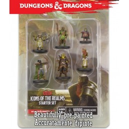 ICONS OF THE REALM STARTER SET MINIATURES WIZKIDS