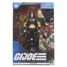 HASBRO G.I. JOE CLASSIFIED SERIES ZARTAN ACTION FIGURE