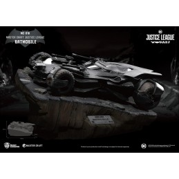 JUSTICE LEAGUE BATMOBILE STATUA 40CM MASTERCRAFT FIGURE BEAST KINGDOM