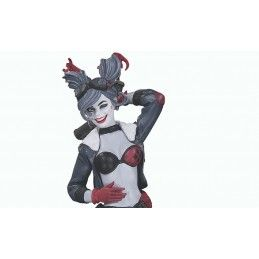 BOMBSHELLS HARLEY QUINN RED WHITE AND BLACK STATUE FIGURE