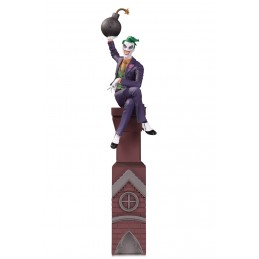 DC COMICS BATMAN ROUGES GALLERY THE JOKER FIGURE STATUA DC COLLECTIBLES