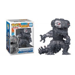 FUNKO FUNKO POP! GODZILLA VS KONG MECHAGODZILLA METALLIC BOBBLE HEAD FIGURE